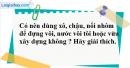 Câu 3 phần bài tập học theo SGK – Trang 52 Vở bài tập hoá 9
