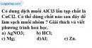 Câu 4 phần bài tập học theo SGK – Trang 52 Vở bài tập hoá 9