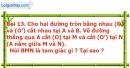 Bài 13 trang 95 Vở bài tập toán 9 tập 2
