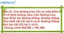 Bài 15 trang 96 Vở bài tập toán 9 tập 2