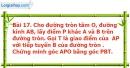 Bài 17 trang 98 Vở bài tập toán 9 tập 2
