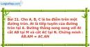 Bài 21 trang 100 Vở bài tập toán 9 tập 2