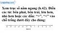 Trả lời câu hỏi 1 Bài 3 trang 71 SGK Toán 6 Tập 1