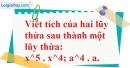Trả lời câu hỏi 2 Bài 7 trang 27 SGK Toán 6 Tập 1