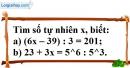 Trả lời câu hỏi 2 Bài 9 trang 32 SGK Toán 6 Tập 1