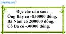 Trả lời câu hỏi 3 Bài 1 trang 67 SGK Toán 6 Tập 1