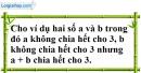 Trả lời câu hỏi 4 Bài 10 trang 35 SGK Toán 6 Tập 1