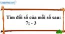 Trả lời câu hỏi 4 Bài 2 trang 70 SGK Toán 6 Tập 1