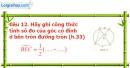 Phần câu hỏi bài 5 trang 101 Vở bài tập toán 9 tập 2