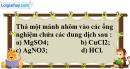 Câu 2 phần bài tập học theo SGK – Trang 52 Vở bài tập hoá 9