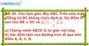 Bài 36 trang 112 Vở bài tập toán 9 tập 2