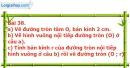 Bài 38 trang 113 Vở bài tập toán 9 tập 2