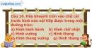 Phần câu hỏi bài 7 trang 109, 110 Vở bài tập toán 9 tập 2