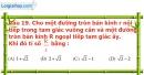 Phần câu hỏi bài 8 trang 113 Vở bài tập toán 9 tập 2