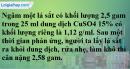 Câu 6* phần bài tập học theo SGK – Trang 66 Vở bài tập hoá 9