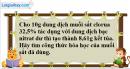 Câu 9* phần bài tập học theo SGK – Trang 71 Vở bài tập hoá 9