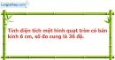 Bài 49 trang 120 Vở bài tập toán 9 tập 2