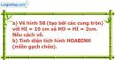 Bài 51 trang 120 Vở bài tập toán 9 tập 2