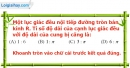 Phần câu hỏi bài 9 trang 116 Vở bài tập toán 9 tập 2