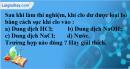 Câu 4 phần bài tập học theo SGK – Trang 76 Vở bài tập hoá 9