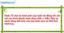 Bài 12 trang 138 Vở bài tập toán 9 tập 2