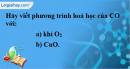 Câu 1 phần bài tập học theo SGK – Trang 83 Vở bài tập hoá 9