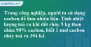 Câu 5 phần bài tập học theo SGK – Trang 81 Vở bài tập hoá 9