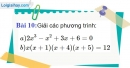 Bài 10 trang 154 Vở bài tập toán 9 tập 2