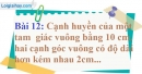 Bài 12 trang 155 Vở bài tập toán 9 tập 2