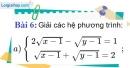 Bài 6 trang 152 Vở bài tập toán 9 tập 2