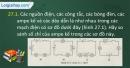 Câu 27.1, 27.2, 27.3, 27.4 phần bài tập trong SBT – Trang 97,98 Vở bài tập Vật lí 7