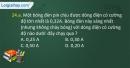 Câu 24.a, 24.b, 24.c phần bài tập bổ sung – Trang 83,84 Vở bài tập Vật lí 7