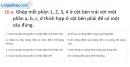 Câu 26.a, 26.b, 26.c phần bài tập bổ sung – Trang 93,94 Vở bài tập Vật lí 7