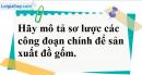 Câu 2 phần bài tập học theo SGK – Trang 90 Vở bài tập hoá 9