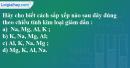 Câu 5 phần bài tập học theo SGK – Trang 94 Vở bài tập hoá 9