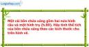 Bài 19 trang 143 Vở bài tập toán 9 tập 2