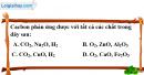 Câu 1, 2, 3, 4  phần bài tập bổ sung – Trang 81 Vở bài tập hoá 9