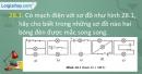 Câu 28.1, 28.2, 28.3, 28.4, 28.5 phần bài tập trong SBT – Trang 103,104 Vở bài tập Vật lí 7