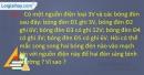 Câu 28.a, 28.b, 28.c phần bài tập bổ sung – Trang 104,105 Vở bài tập Vật lí 7