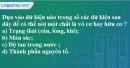 Câu 1 phần bài tập học theo SGK – Trang 100 Vở bài tập hoá 9