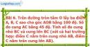 Bài 6 trang 89 Vở bài tập toán 9 tập 2