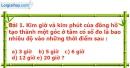 Bài 1 trang 87 Vở bài tập toán 9 tập 2