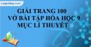 Mục lý thuyết (Phần học theo SGK) - Trang 100