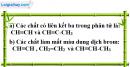 Câu 1 phần bài tập học theo SGK – Trang 108 Vở bài tập hoá 9