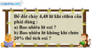 Câu 4 phần bài tập học theo SGK – Trang 106 Vở bài tập hoá 9
