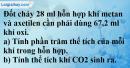 Câu 4 phần bài tập học theo SGK – Trang 109 Vở bài tập hoá 9