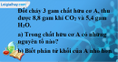 Câu 4 phần bài tập học theo SGK – Trang 116 Vở bài tập hoá 9