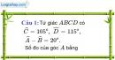 Phần câu hỏi bài 1 trang 90, 91 Vở bài tập toán 8 tập 1
