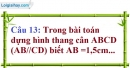 Phần câu hỏi bài 5 trang 106 Vở bài tập toán 8 tập 1