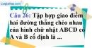 Phần câu hỏi bài 10 trang 126 Vở bài tập toán 8 tập 1